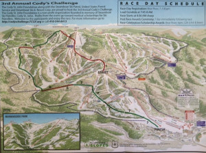 Race Map 2011 Cody's Challenge