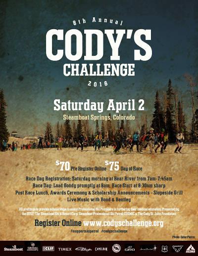 Cody's Challenge 2016