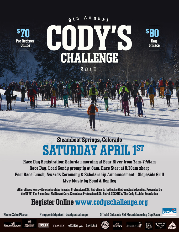 9th Annual Codys Challenge 2017