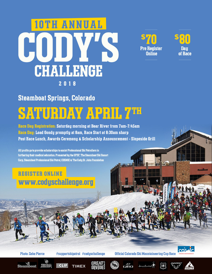 10th Cody's Challenge